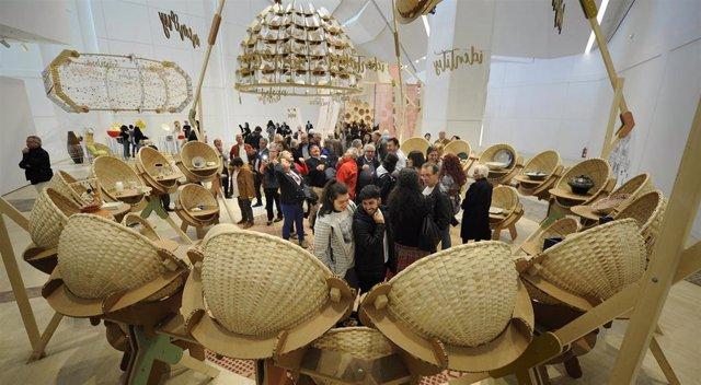 El Centro Gaiás celebra el día de los museos con un taller colectivo de cestería y un vermú musical