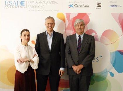 James Quincey, consejero delegado The Coca-Cola Company, galardonado con el Premio Esade