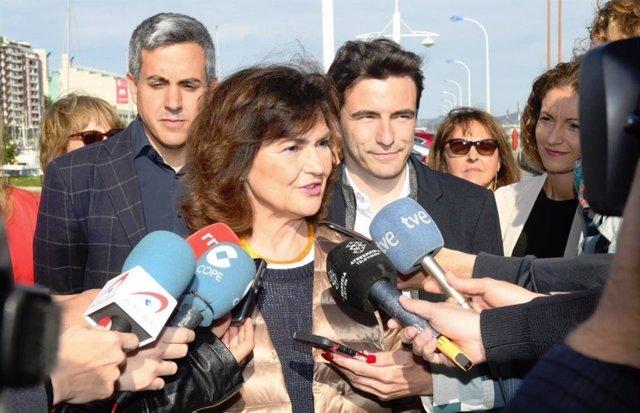 """Calvo ve """"pueril"""" que los independentistas critiquen la justicia española solo cuando """"no les da la razón"""""""