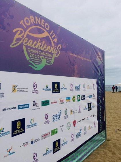 El ITF Beachtennis Gran Canaria 2019 arranca este martes a partir de las 16 horas en la Playa de Las Canteras