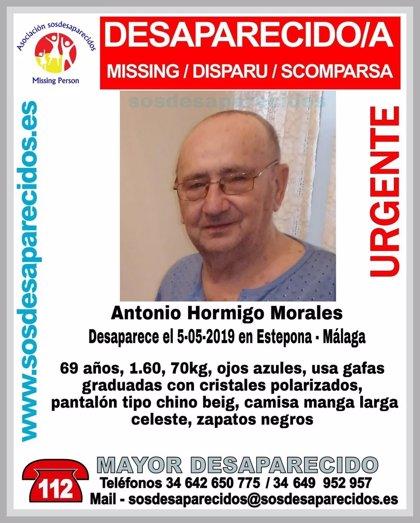 Encontrado y trasladado a un centro médico el hombre de 69 años desaparecido este domingo en Estepona