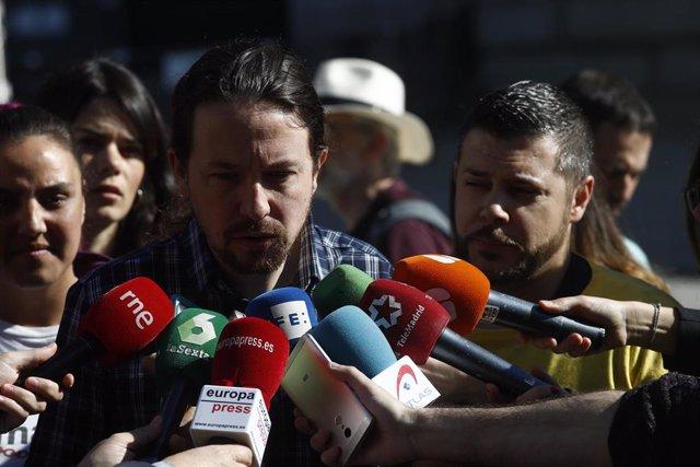 """VÍDEO: Iglesias dice que quiere """"ser Gobierno"""" para """"cumplir la ley y respetar los derechos de los trabajadores"""""""