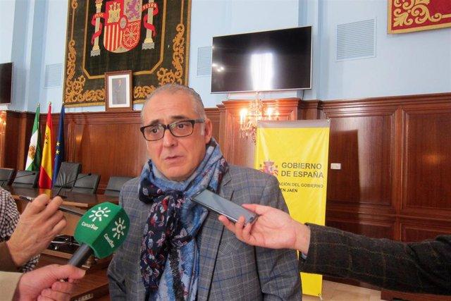 """Jaén.- El presidente de la CHG llama a """"la tranquilidad"""" porque """"no va haber ningún problema"""" con los riegos"""