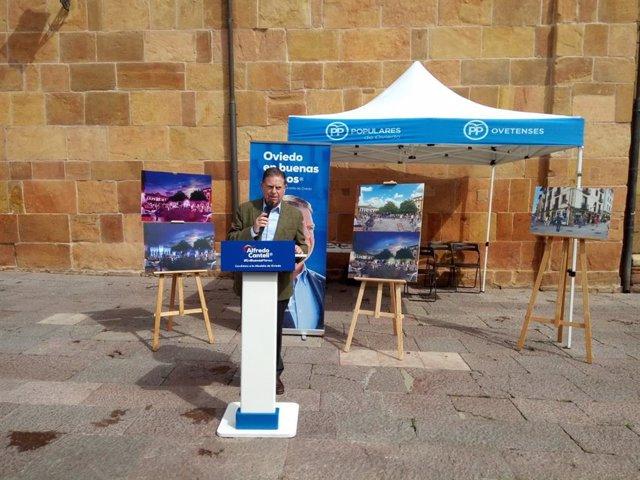26M.- Oviedo.- Canteli (PP) Quiere Una Iluminación Ornamental Para El Antiguo Con Tecnología LED