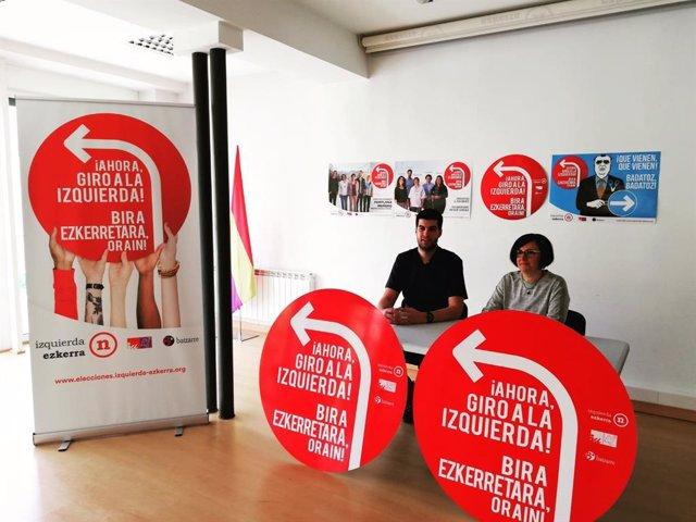 """26M.- 'Ahora, Giro A La Izquierda', Lema De La Campaña Electoral De I-E, Que Se Reivindica Como """"La Opción Más Fiable"""""""
