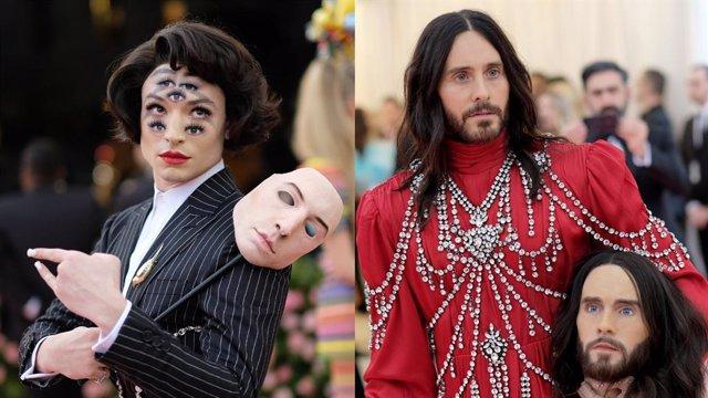 Gala MET 2019: Ezra Miller (Flash) y Jared Leto (Joker) acaparan todas las miradas en la alfombra roja