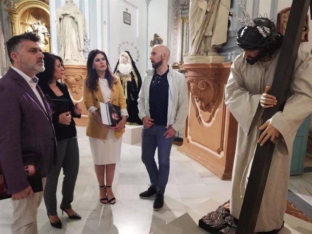 El presente y futuro de la imaginería se dan cita en San Juan de Dios con la exposición 'Barro, madera y sangre'