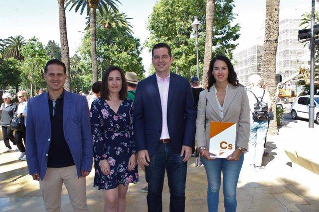Málaga.- 26M.- Cs apuesta por abrir oficinas de la Gerencia de Urbanismo en los barrios y propone una auditoría