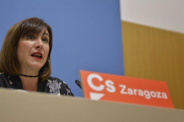 Zaragoza.- Sara Fernández será la candidata de Cs a la Alcaldía de la capital aragonesa