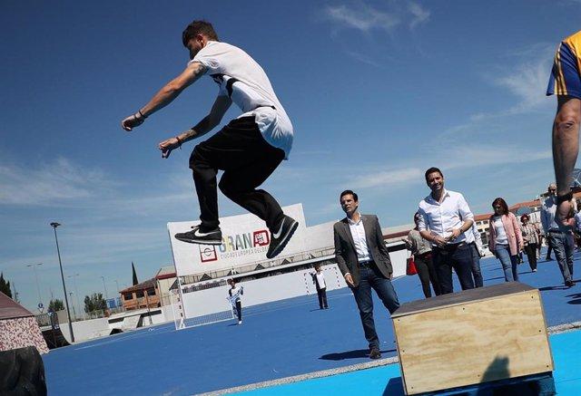 Granada.- Unas jornadas abren la actividad del antiguo 'botellódromo' tras su reconversión en espacio deportivo
