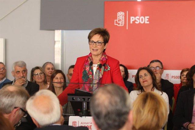 Acto de presentación de la candidatura del PSOE a la Alcaldía de Almería