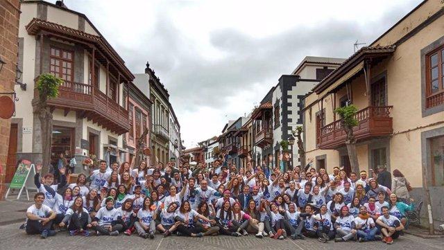 Un total de ocho estudiantes andaluces buscan una plaza en Ruta Siete, un proyecto educativo patrocinado por BBVA