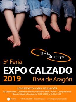 Zaragoza.- Brea de Aragón celebra la quinta edición de Expo Calzado con 40 expositores de la Comarca del Aranda
