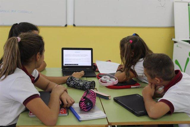 Consell.- El Govern destina un millón de euros para aulas digitales de centros docentes públicos de Baleares