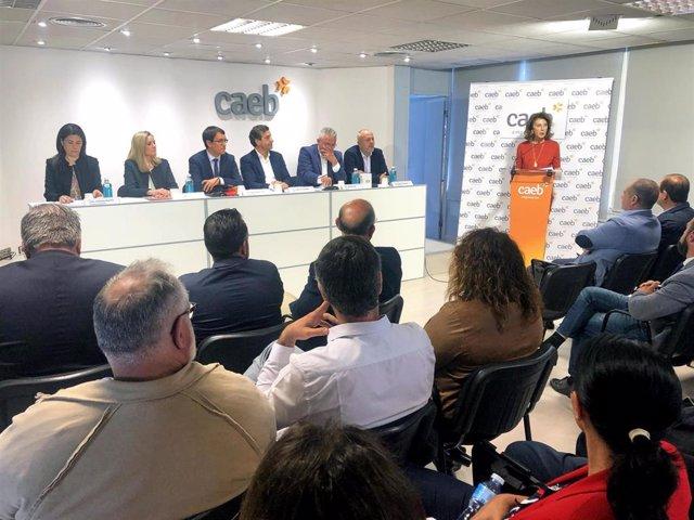 """26M.- La CAEB Pide A Los Partidos Políticos """"Diálogo Y Acuerdos"""" Para La Estabilidad Política De Baleares"""