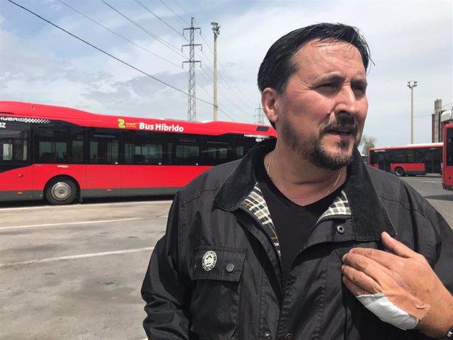 """Zaragoza.- El conductor del autobús que redujo al agresor de Miralbueno dice que """"lo volvería a hacer"""""""