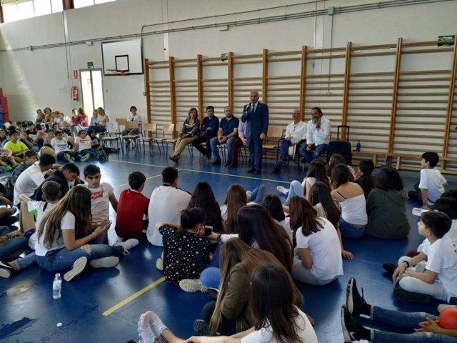 Granada.- Educación.- Las IV Jornadas Intercentros de la Comarca del Temple resaltan el potencial del reciclaje