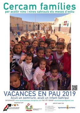 Se cerquen famílies per acollir nens saharuis procedents de camps de refugiats dos mesos a l'estiu