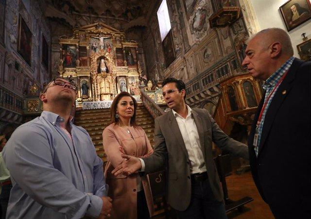 Granada.- Turismo.- Abren al público el patrimonio oculto en salas de clausura y conventos de Granada