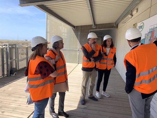 26M.- Cladera Visita Les Plantes De Tractament De Residus De Mallorca I Demana Avanços En Sostenibilitat