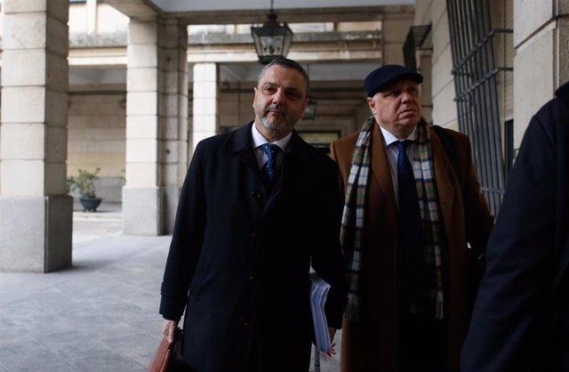 Sevilla.- Tribunales.- Mellet presenta ante la Audiencia un recurso de súplica para evitar su entrada en prisión