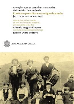 La RAG publica el discurso de ingreso de Antonio Fraguas en la institución