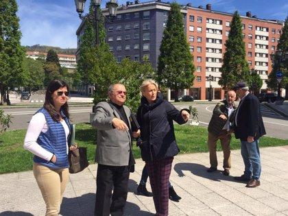 """Coto (Vox) ve el """"masivo cierre"""" de comercios de Oviedo como el """"símbolo del declive de la ciudad"""""""