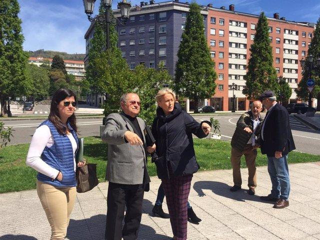 """26M.- Coto (Vox) pide la puesta en marcha de la Ronda Norte como """"mejor alternativa"""" para Oviedo"""