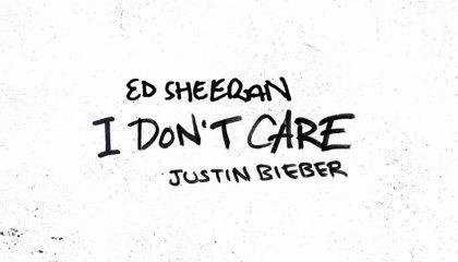 Ed Sheeran y Justin Bieber anuncian single conjunto: I don't care