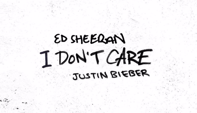 Ed Sheeran y Justin Bieber anuncian single conjunto: I don't care