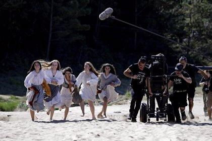 La playa vizcaína de Laga acoge el rodaje de la película 'Akelarre', del argentino Pablo Agüero