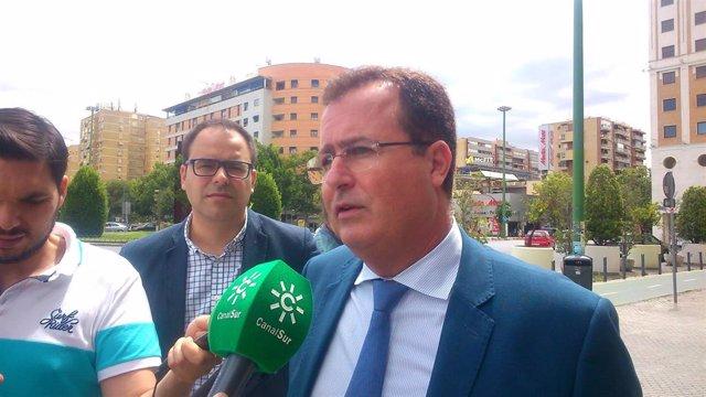 Sevilla.-Tribunales.- Cabrera solicita con un recurso de apelación que se anule su imputación en la causa de los taxis