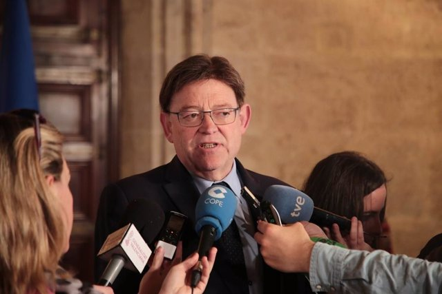 """Puig afirma que el Consell """"acepta el FLA porque no hay otra opción"""" y que """"es bueno pagar pronto"""" las facturas"""