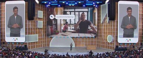 Google potencial Lens con el reconocimiento de texto y muestra nuevas herramientas para la comunicación inclusiva