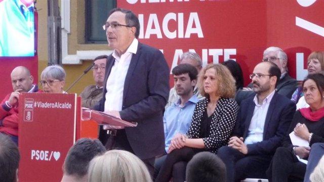 """26M.- Cruz Viadero Cree Que PSOE Tiene """"Las Mejores Cartas"""" Para Ganar En Torrelavega Y Hacer Que La Ciudad """"Despegue"""""""
