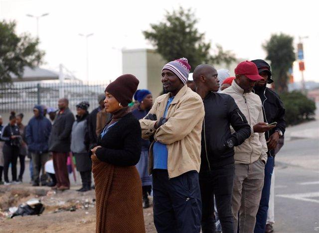 Sudáfrica.- Abren los colegios electorales en Sudáfrica para las elecciones parlamentarias