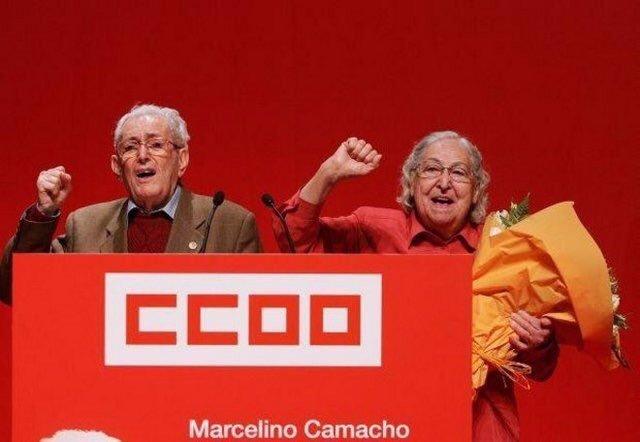 CCOO, IU y PCE homenajean al histórico sindicalista Marcelino Camacho
