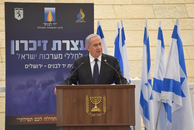 Memorial Day ceremony for Israel\'s fallen soldiers in Jerusalem