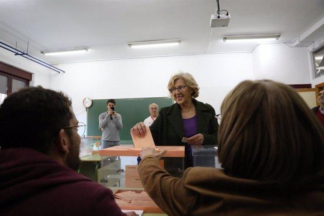 ++eptv: Para Carmena ganó la mayoría progresista no bronca y que da espalda a forma equivocada de entender la democracia