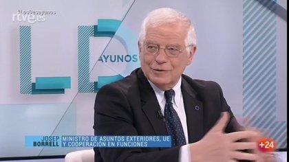 """Borrell ve a EEUU en Venezuela """"como un cowboy"""" cuando lo que hace falta es una """"solución negociada"""""""