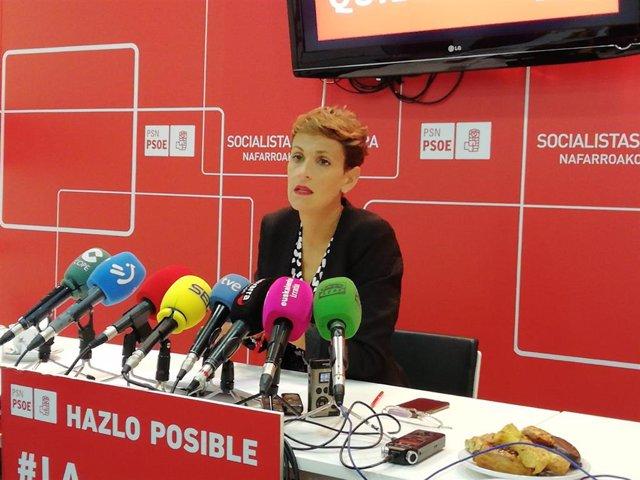 26M.- Pedro Sánchez Participará En El Acto Central De Campaña Del PSN En Pamplona
