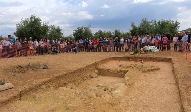 Jaén.- Satisfacción municipal en Mengíbar por la inscripción del Arco de Jano Augusto como Bien de Interés de Cultural