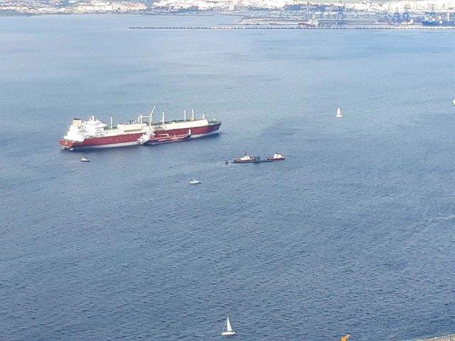 Cádiz.- El submarino británico 'HMS Talent', de la clase 'Trafalgar', vuelve a arribar en Gibraltar