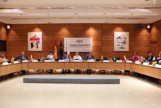 Pleno del Consejo Interterritorial del Sistema Nacional de Salud en el Ministerio de Sanidad