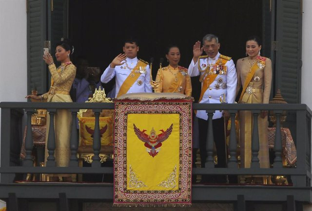 Thailand\'s King coronation ceremony in Bangkok