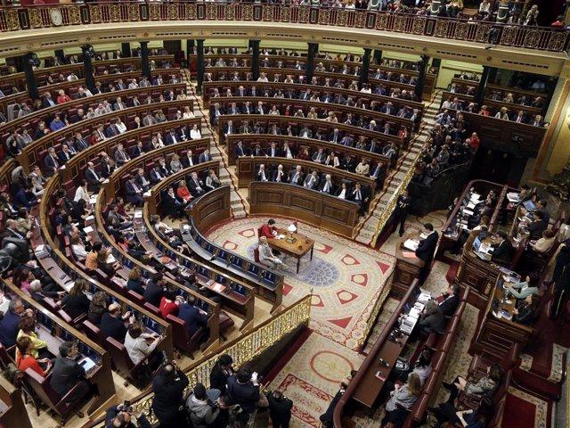 28A.- Congreso y Senado se constituirán el 21 de mayo con la elección de sus Mesas y la toma de posesión de los electos