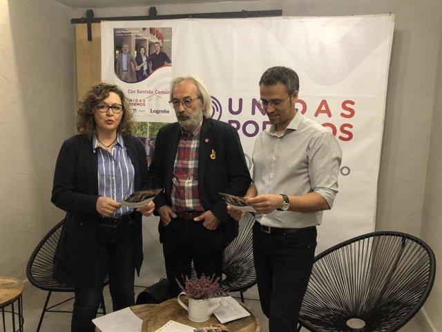 Unidas Podemos apoya su modelo de ciudad en la lucha contra el cambio climático