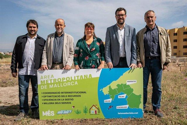26M.- MÉS Plantea La Conexión Por Transporte Público De Los Municipios De Calvià, Marratxí, Palma Y Llucmajor
