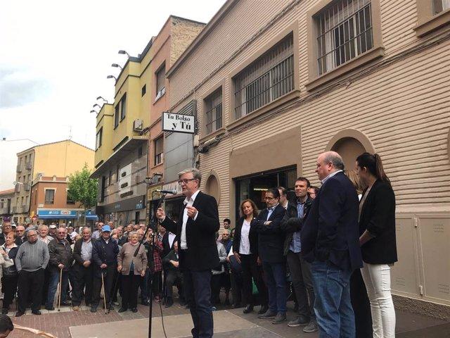 Zaragoza.- Santisteve destaca que el mercado de Delicias ha contribuido a generar riqueza y convivencia en el barrio