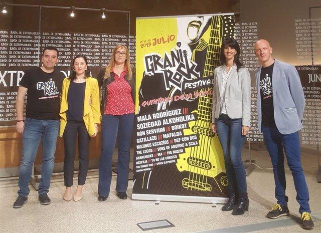 Mala Rodríguez, Mojinos Escozíos y The Zombie Kids actuarán en el Granirock de Quintana de la Serena (Badajoz)